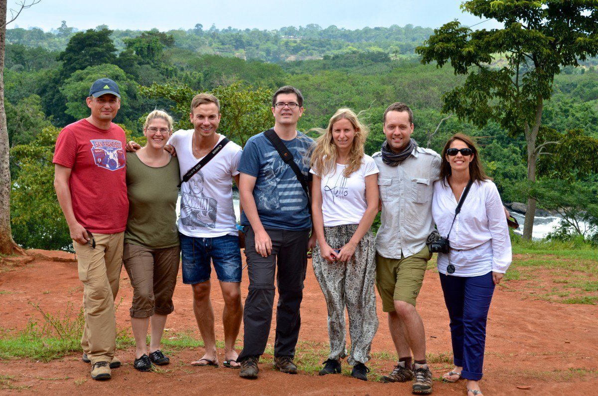 SAP Social Sabbatical employee volunteers and Daniel of PYXERA Global worked with Good Future and Hope Foundation to provide for Ugandan orphans.