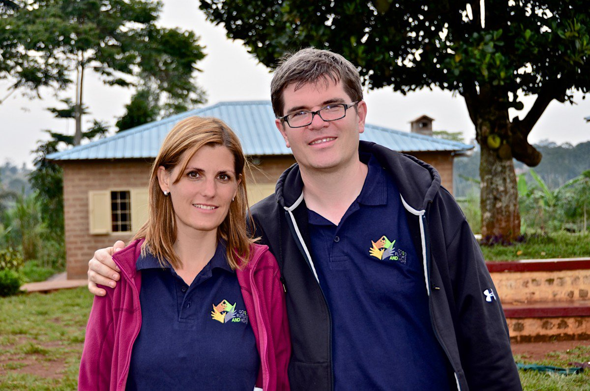 Viera and Hannes started Good Future and Hope Foundation to help Kampala's orphans get off the street.