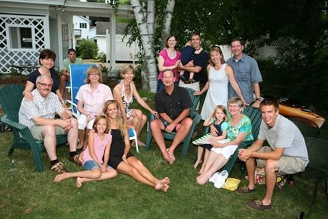 Uli and Laura's families continue to visit each other-whether on the shores of Lake Michigan and or in Germany.